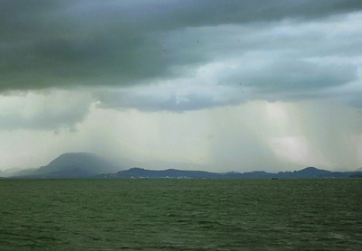 Phang Nga Bay during Monsoon