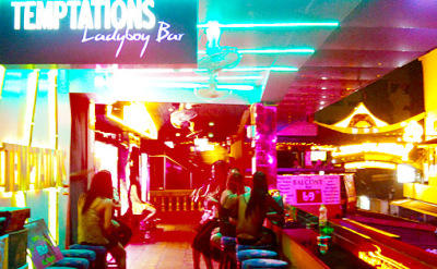 temptation ladyboy bar
