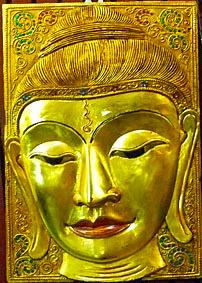 Buddha Head Wall Decoration