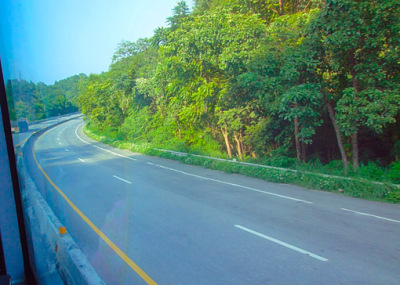 the A2 between Tak and Lampang