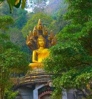 Buddhist Monastery in Mae Sot