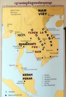 A historic pre angkorian map