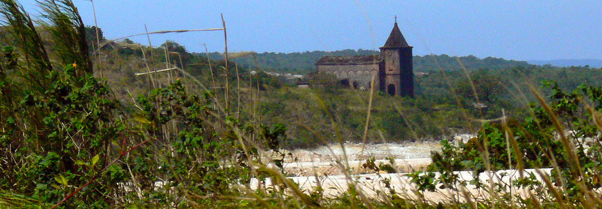 Bokor hill station church