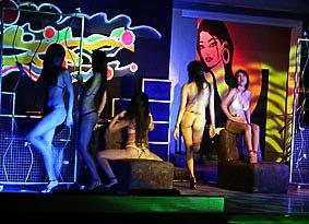 Phuket nightclub show