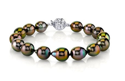Drop Shaped South Sea Cultured Pearl Bracelet
