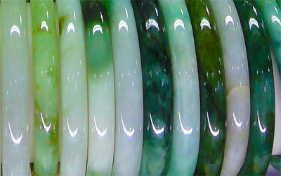 natural green jade