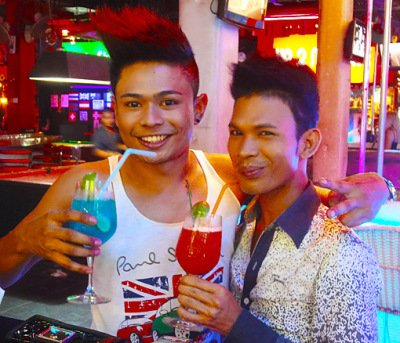 Happy Thai Guys at Bangla Road