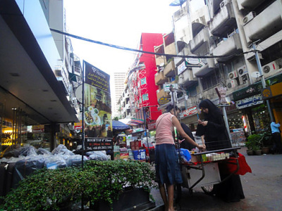 Arab shopping in Bangkok