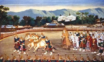 Anawrahta Mural at Bagan