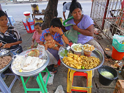 Anawrahta Road Myanmar Fast Food