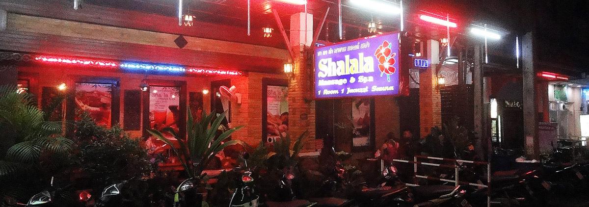 Thai Massage Row