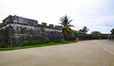 old zamboanga city wall