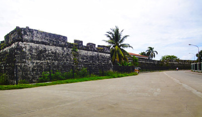 old zamboanga city wall