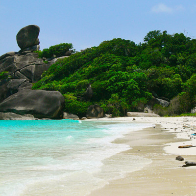 Similan Islands beach