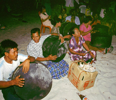 myanmar andaman beach party