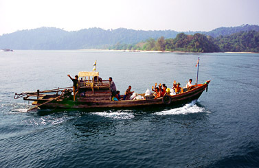 Sea gypsies Myanmar Islands