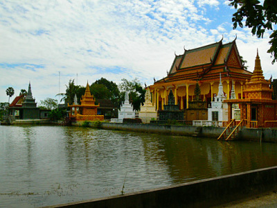 The Tonle Bati Monastery