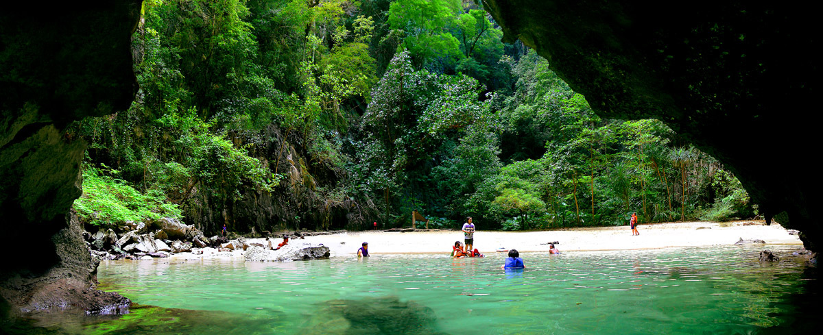 cave diving adventure in Thailand