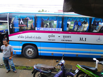 Thailand bus travel