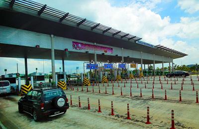 Motorway to Kuala Lumpur
