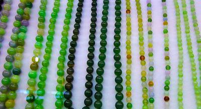 jadeite jade ball chain