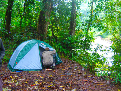 Camping in Thailand