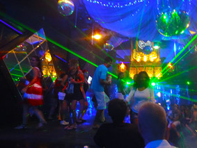 Bali nightlife at Kuta