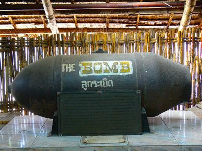 WW2 bombs used