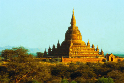 Buddhist Pagoda in Bagan