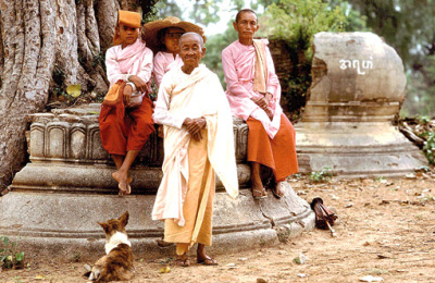 People in Bagan