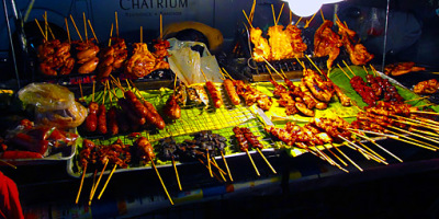 street food at night