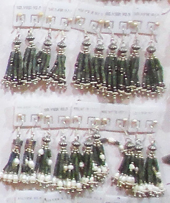 no fake jadeite silver earrings