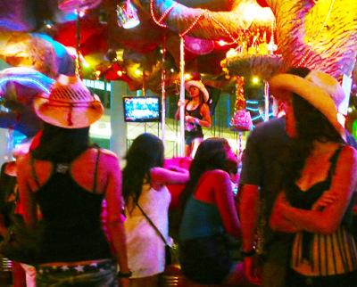 At tiger bar Patong Phuket