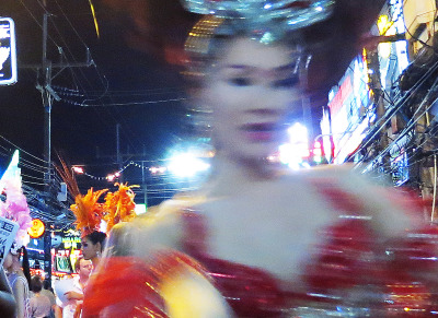 at bangla road patong