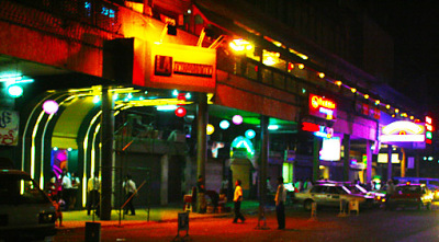 Yangon Nightlife in Chinatown