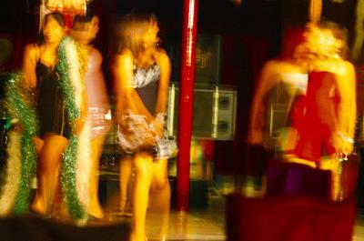 Myanmar nightlife in Chinatown