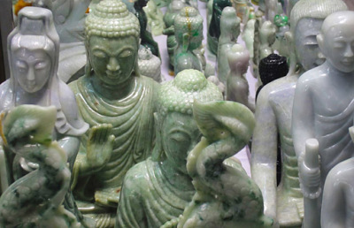 jadeite Buddha statues
