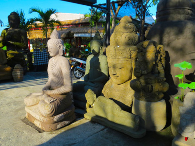Bali consumer art