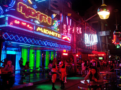 Bangkok girly bar