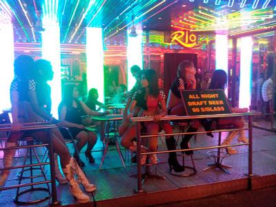 fun at night in Bangkok