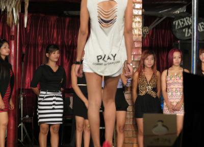 pretty nightclub scene in Yangon