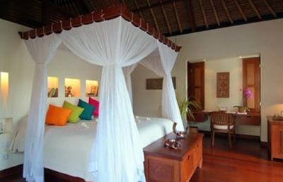 Ubud hanging gardens villas sleeping room