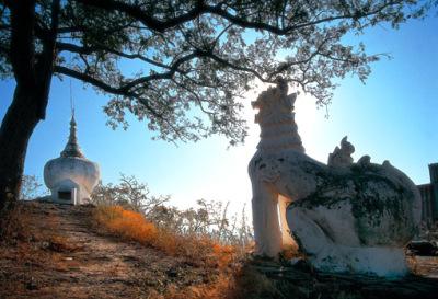 shrines built to gain merit
