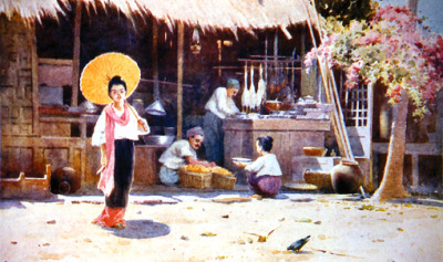 Bagan People in the 18th century