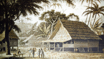 Penang in early 1800
