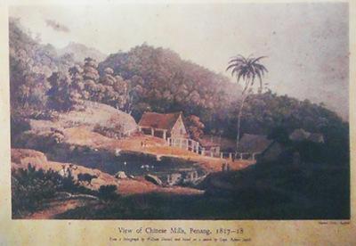 Penang Chinese around 1817