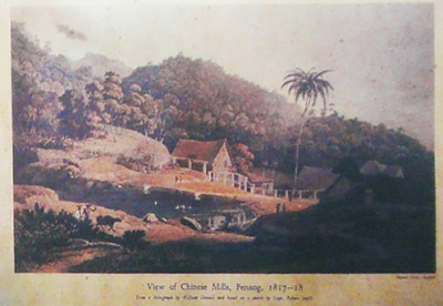 Penang Chinese around 1817