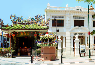 The Chinese yap temple in Georgetown
