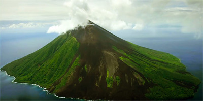 volcano island in the south Pacific (1)