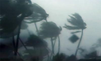 Storm over Vanuatu